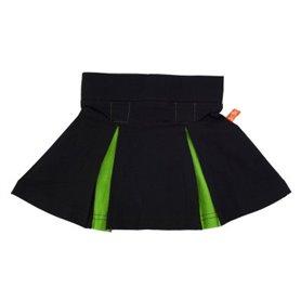Black/green skirt