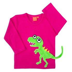 Dinosaur shirt (fuchsia)