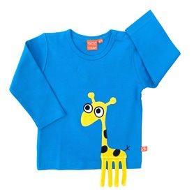 Giraffe shirt, blue