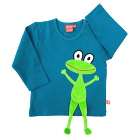 Petrol shirt with frog