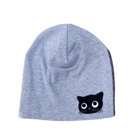 Grey melange organic kitten cap