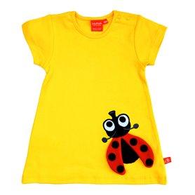 Yellow dress with ladubug