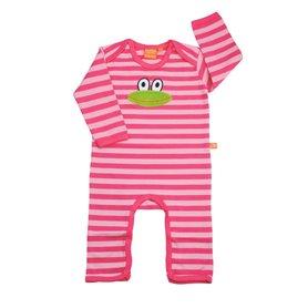 groda, rosarandig babypyjamas (eko)