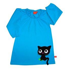 Kattklänning, blå
