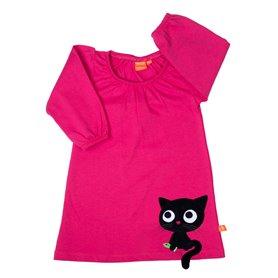 Cerise kitten dress