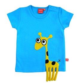 T-shirt with giraffe