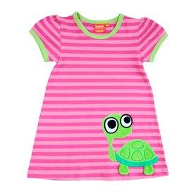 Ekologisk barnKlänning med sköldpadda