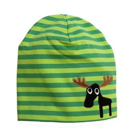 Hat with moose