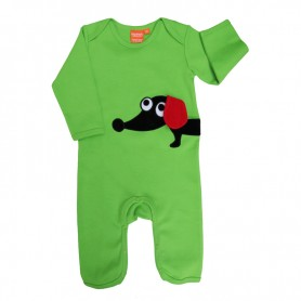 Sausage dog jumpsuit (size 6 M)