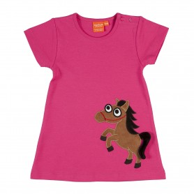 Horse dress (size 74/80, 1 Y)