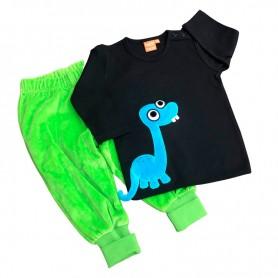 Dinosaurie-set, grön