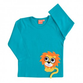 Petrol shirt with lion
