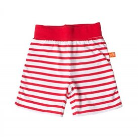 red/white shorts