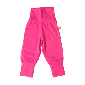 Cerise baby trousers