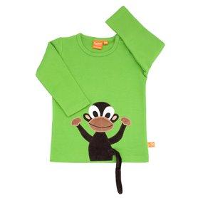 Grön tröja med apa