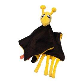 Brun snuttefilt med giraff