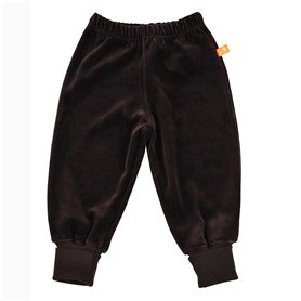 brown velour trousers