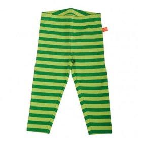 grönrandiga leggings