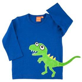 Dinosaurie tröja, blå