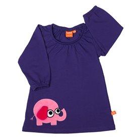 Lila klänning med elefant (62/68)