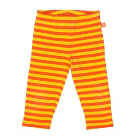 gul/oranga leggings