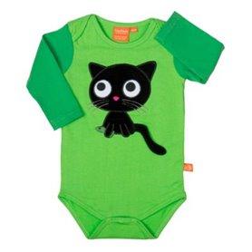 Grön body med katt (50/56)