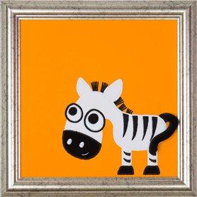 Tavla med Zumba Zebra