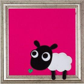 Tavla med fåret Shiela