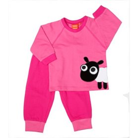 Pink pyjama with sheep