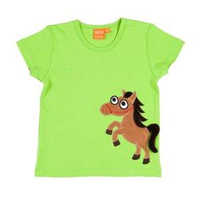 Green T-shirt horse