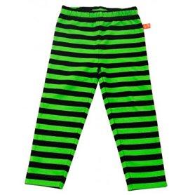 svart/gröna leggings