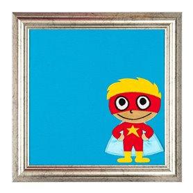 Tukos tavla med superhjälte