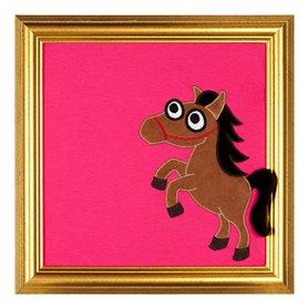 Cerise tavla med häst