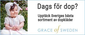 dopklänningar hos Grace of Sweden